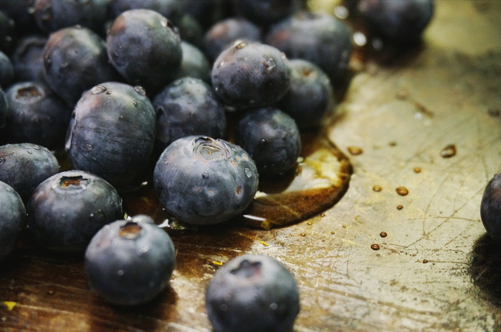 Blueberry-Mint Tart by Suitcase Foodist